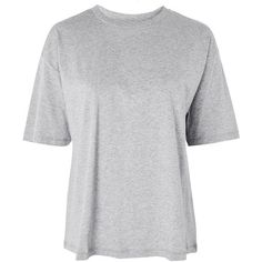 Women's Topshop Boutique Boxy T-Shirt ($40) ❤ liked on Polyvore featuring tops, t-shirts, grey marl, boxy fit t shirt, topshop tees, boxy tees, boxy tops and topshop t shirts