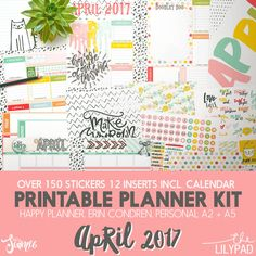 Planner Page Templates Extraordinary Customizable Planner Page Templatesstudio Kitsch On .
