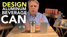 The Ingenious Design of the Aluminum Beverage Can #engineering #design #science #education #aluminum