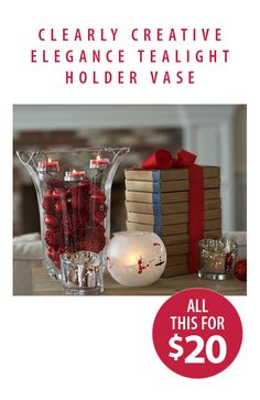 For $20 your holiday-ready! Host a Party with PartyLite and score these seasonal staples for a steal.