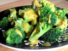 Cheesy Broccoli - low carb - made with nutritional yeast for even lower carbs, easier digestion and full of nutrients!
