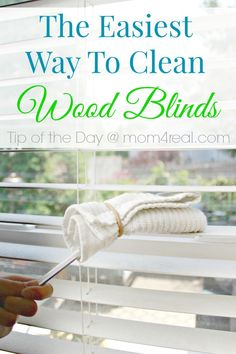 I decided to try something that was suggested for cleaning shutters, and I am happy to report that it totally works! Today, I'm going to share a super easy way to clean wood blinds!