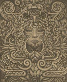 New art mexicano maya Ideas Cholo Art, Chicano Art, Chicano Tattoos, Aztec Warrior Tattoo, Aztec Symbols, Viking Symbols, Egyptian Symbols, Viking Runes, Ancient Symbols