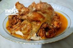 Kavanozda Tavuk Tandır (Yok Böyle Bir Lezzet) Tarifi Homemade Beauty Products, Family Meals, Cake Recipes, Pork, Food And Drink, Turkey, Chicken, Cooking, Wordpress Theme