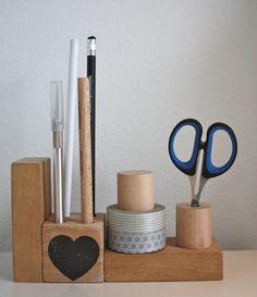 Desk organiser from simpel & leuk