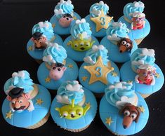 Disney Toy Story 3 Cupcake Set