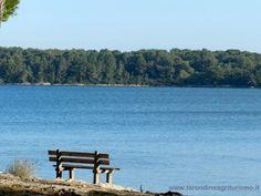 Il mare del Salento condiviso dall'Agriturismo La Rondine.