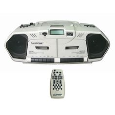 Music Maker Plus with Remote Control has radio, cassette, and CD capabilities!