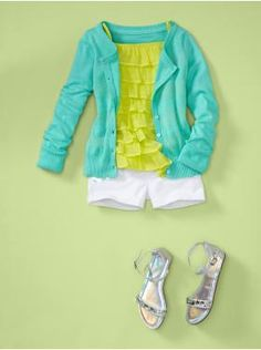 Another great outfit for kids!  There are more for kids than adults these days!