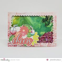 Glitter in my Hair Shaker Cards, Digi Stamps, More Fun, My Hair, Cardmaking, Challenges, Paper Crafts, Glitter, Create