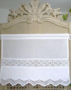 brise bise brodé blanc tradition crochet