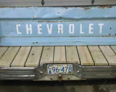 Chevrolet Tailgate bench with bumper