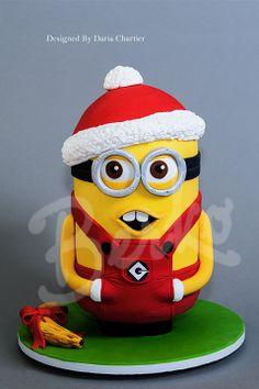 Christmas cake Berko Paris Santa Minions