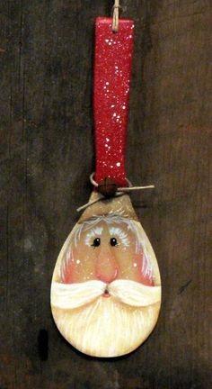 Wooden spoon Santa - Căutare Google