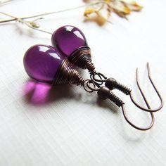 *** Perfect little Plum Drops - Jewelry Art II