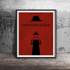 Movie poster printShutter Island-alternative movie by OandBstudios