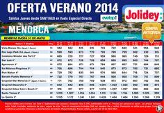 Oferta Verano 2014 Menorca, Salidas Jueves desde Santiago Cía. EVELOP! desde 515€ ultimo minuto - http://zocotours.com/oferta-verano-2014-menorca-salidas-jueves-desde-santiago-cia-evelop-desde-515e-ultimo-minuto/