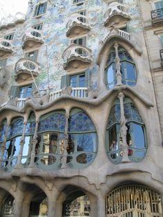 Barcelona. One of Gaudis fantastic creations.