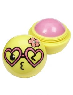 Heart Glasses Emoji Lip Balm