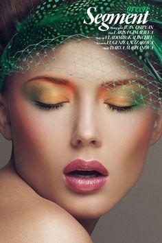 """Color"" | Model: Darya Mashanova, MUA: Vladimir Kalinchev, Hair: Larisa Gimalieva, Photographer: Jean Osipyan, May 2013"