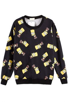 Funny Cartoon Animal Sweatshirt