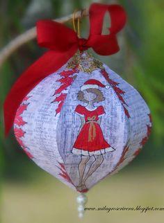 Amo esta Bola de Navidad by Milagros C. Rivera. Hecho en Puerto Rico