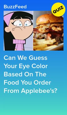 Order A Bunch Of Food From Applebee's And We'll Correctly Guess Your Eye Color 5 Minute Crafts Videos, Craft Videos, Quizzes For Girls Personality, Psychology Quiz, Best Buzzfeed Quizzes, Fun Quizzes To Take, Color Quiz, Interesting Quizzes, Sleepover