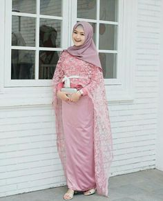 Kebaya Modern Hijab, Kebaya Hijab, Kebaya Dress, Kebaya Muslim, Kebaya Brokat, Dress Muslim Modern, Muslim Wedding Dresses, Dress Brukat, Hijab Dress