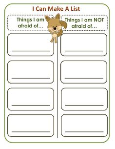 Using scaredy squirrel for writing