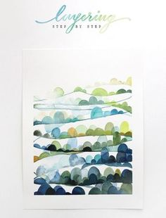 Awesome watercolor tutorials - Watercolor Archives - The Alison Show