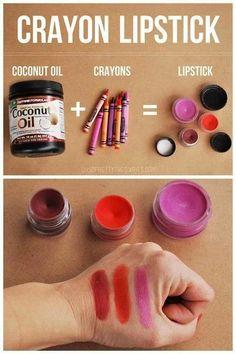 Home made lipstick