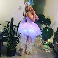 DIY Jellyfish Halloween Costume Idea