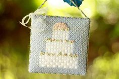Wedding cake needlepoint finishing 903 49301 11