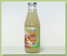 Verhofstede fruitsappen - appelsap en peren.