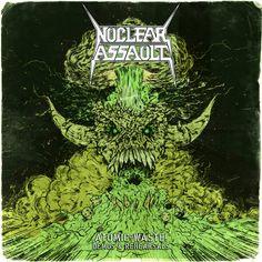 Metal Band Logos, Metal Bands, Hard Rock, Nuclear Assault, Heavy Metal Art, Best Albums, Thrash Metal, Cover, Instrumental