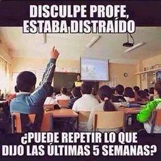 Memes en español: Estaba distraído