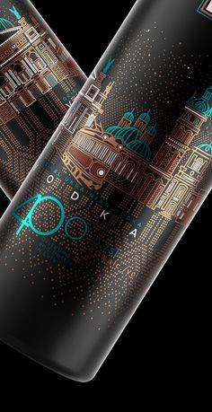 Packaging for vodka brand
