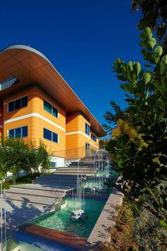 Modern Funky Orange House |  Ankara, Turkey | byYazgan Design Architecture | 2010