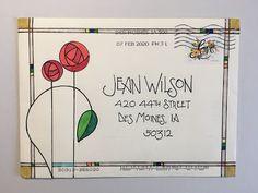 Envelope Art, Envelope Design, Envelope Templates, Envelope Lettering, Mail Art Envelopes, Addressing Envelopes, Decorated Envelopes, Handmade Envelopes, Hand Lettering Fonts