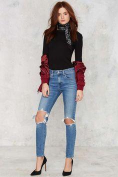 Levi's 721 Jeans - Rugged Indigo - Denim | Denim Throwbacks | Best Sellers…
