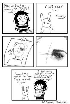 Sarah's Scribbles Lol so relatable