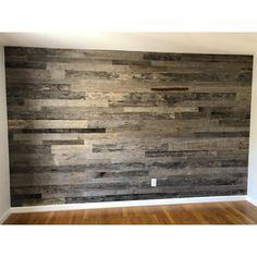 Vintage Timber in. x 4 ft. Random Width 3 in. – 5 in. – The Home Depot - Holz Design Wood Plank Walls, Pallet Walls, Rustic Wood Walls, Wood Paneling, Pallet Wall Bedroom, Diy Pallet Wall, Plank Wall Bedroom, Faux Wood Wall, Pallet Tv