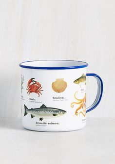 Kitchen & Dining - Put the Gears in Ocean Mug