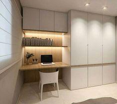 Super home office storage cupboards ideas Study Table Designs, Study Room Design, Home Room Design, Home Office Design, Home Office Decor, Home Interior Design, House Design, Exterior Design, Office Ideas