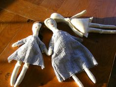 Camp Follower Bags and Quilts: A Simple Rag Doll Tutorial