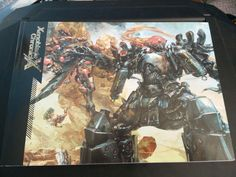 Xenoblade Chronicles X front of artbook