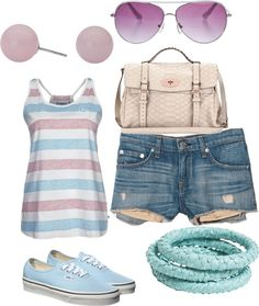 Baby blue and light purple, created by darian-nobriga on Polyvore