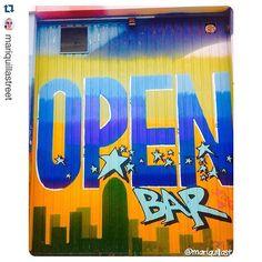 #Repost @mariquillastreet  Gracias por la foto! ;) ---- #Streetart #stree2lab #art #arte #urbanart #fonts #types #tags #graffiti #graffitiporn #barcelona #bcn #instagraffiti #igersbcn #igerscatalunya #colors