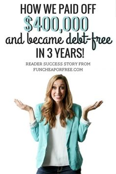 Reader Success Story Mindy paid off including her home and now lives debt-free Fun Cheap or Free Reader Success Story Mindy paid off including her home and now lives debt-free Fun Cheap or nbsp hellip makeover checklist Money Tips, Money Saving Tips, Cash Money, Money Makeover, Debt Free Living, Student Loan Debt, Get Out Of Debt, Debt Payoff, Queen