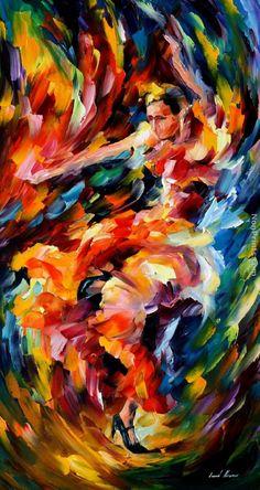 Leonid Afremov: Flamenco
